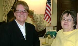 Kae Young and Joyce at Hist Club Meeting 5 Oct 2009