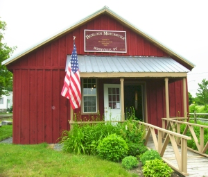 The Hemlock Mercantile General Store at the Boonville Black River Canal Museum complex, Main Street and Route 12.