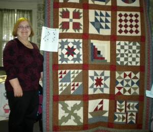 deb seelman and quilt